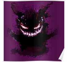Gengar in the shadows Poster