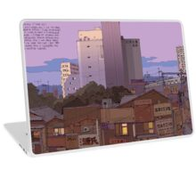 Noborito skyline dawn Laptop Skin