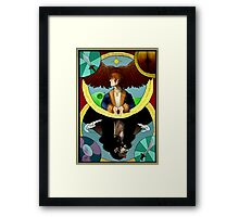 Bagginshield Tarot Card Framed Print
