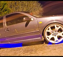 MK4 Golf GTI On X5 Rims - Light Painted by Adam Kennedy
