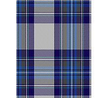 00459 Blue Dunnett Tartan  Photographic Print