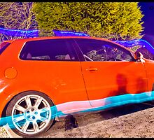 Polo GTI On BBS - Light Painted by Adam Kennedy