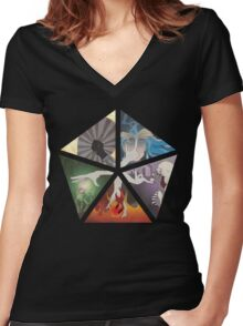 Mana Cycle Women's Fitted V-Neck T-Shirt