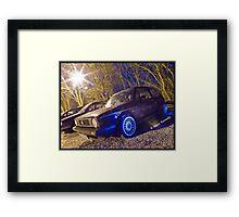 MK1 Golf On BBS Framed Print