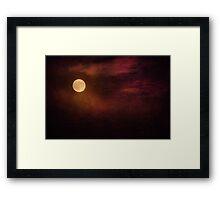 Super Moon Framed Print