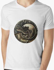 Baby Dinosaur Mens V-Neck T-Shirt