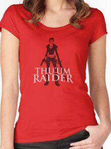 Thu'um Raider Women's Fitted Scoop T-Shirt