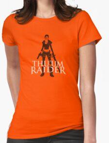 Thu'um Raider Womens Fitted T-Shirt