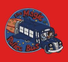 The Magic Police Bus One Piece - Long Sleeve