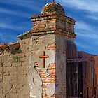 Mission Gate Post (San Miguel Spanish Mission, California) by Brendon Perkins