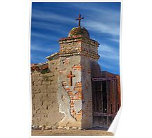 Mission Gate Post (San Miguel Spanish Mission, California) Poster