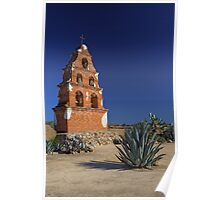 Mission Bell Tower (San Miguel Spanish Mission, California) Poster