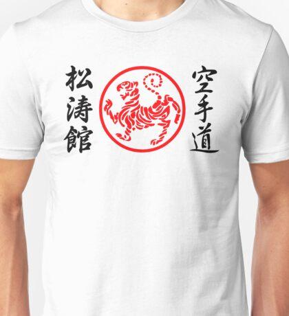 Shotokan Karate Symbol and Kanji Unisex T-Shirt