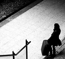 Every Journey starts with a step..And we all have baggage by Berns