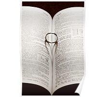 Love, Band, Wedding Ring Poster