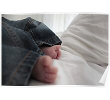 Babies toes Poster