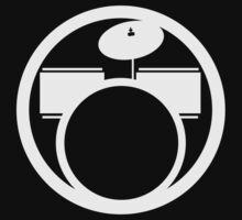 RockBand Instrument Symbol - Drums by Guilherme Bermêo