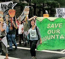 Anti Mountaintop Removal Protest by Rae Breaux