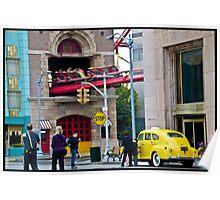 Street Scene @ Universal Studios Poster