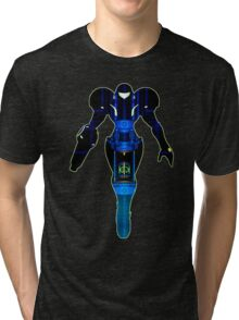 Samus and Metroid Retro Tri-blend T-Shirt