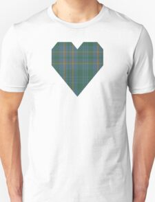 00463 Blue Ridge District Tartan  Unisex T-Shirt