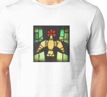 Stained Glass Dove - Hammerfest Church in Norway Unisex T-Shirt