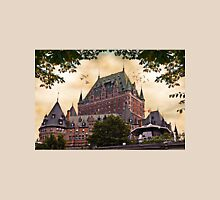 Chateau Frontenac at Sunset Unisex T-Shirt