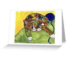 Cat's Pajamas Greeting Card