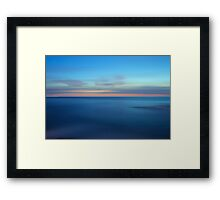 Minimum Impact Framed Print