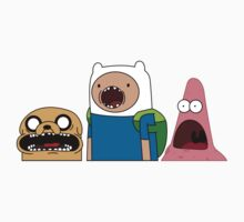 Shocked Jake, Finn & Patrick by katieanne93