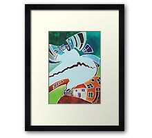 "Your reality or mine? – ""Realities VIS-À-VIS or When a Rupture Matters"" Framed Print"