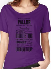 A Disquieting Metamorphosis Women's Relaxed Fit T-Shirt