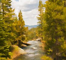 Frazier Creek by Mick Burkey
