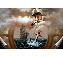 Sea Captain 2 Photographic Print