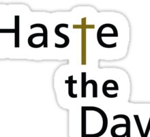 Haste the Day American Love Sticker