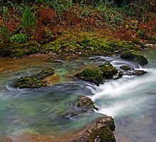 Blue River of Rainbows by martingilchrist