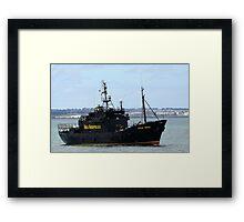 Sea Sheperd Framed Print