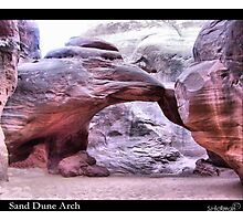Sand Dune Arch Photographic Print