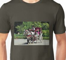 Horse and Buggy - Central Park Unisex T-Shirt