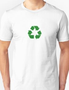 Recycling Sticker - Recycle Logo Decal Unisex T-Shirt