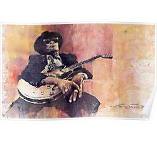 Jazz John Lee Hooker Poster