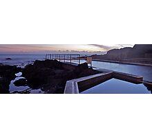 Hallidays Baths.  Photographic Print