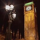 Palace of Westminster Clock Tower - Big Ben by Conor MacNeill