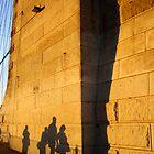 Golden Walk by infiniteartfoto
