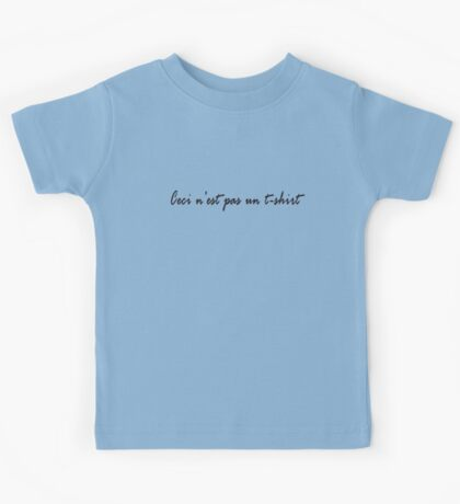 Rene Magritte - Art - Surrealism T-Shirt Kids Tee