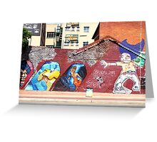 Street Art & Graffiti, Johannesburg Greeting Card