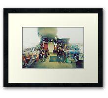 Barber Shop Again Framed Print
