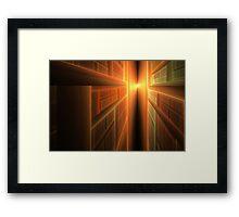 2011: A Fractal Odyssey Framed Print