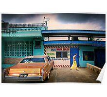 Namaka Street Scene Poster