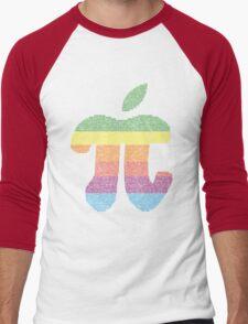 Apple Pi Men's Baseball ¾ T-Shirt